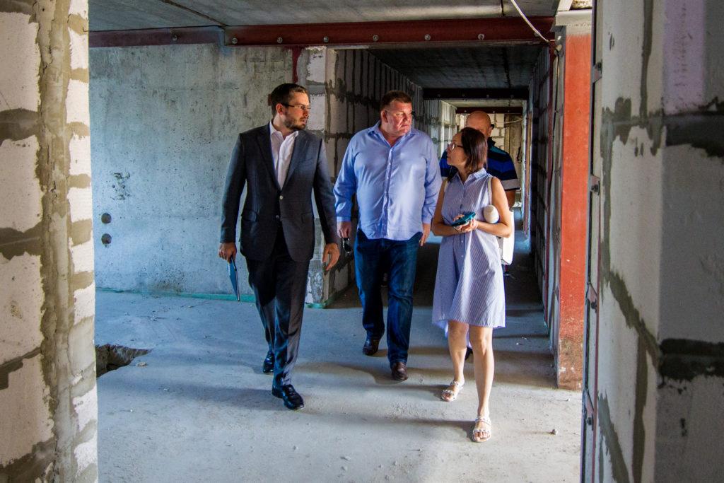 В с. Мариновка прошла рабочая встреча по теме строительства нашего центра хосписной и паллиативной помощи «Покров»
